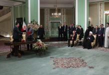 توقيع 4 عقود تعاون بين انقرة وطهران