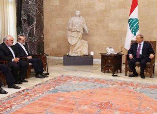 رئيس مؤسسة الاذاعة والتلفزيون الايراني يلتقي عون في لبنان