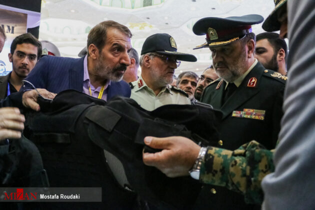 Tehran Hosts Police, Safety, Security Equipment Exhibition16