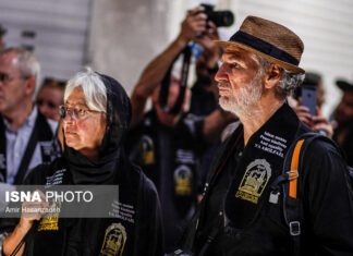 Iran Holds Special Tour of Mourning Ceremonies for Foreigners16