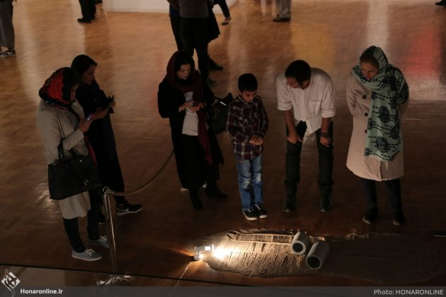 افتتاح نمایشگاه آثار نقاشی70 سال اخیر در فرهنگسرای نیاوران16