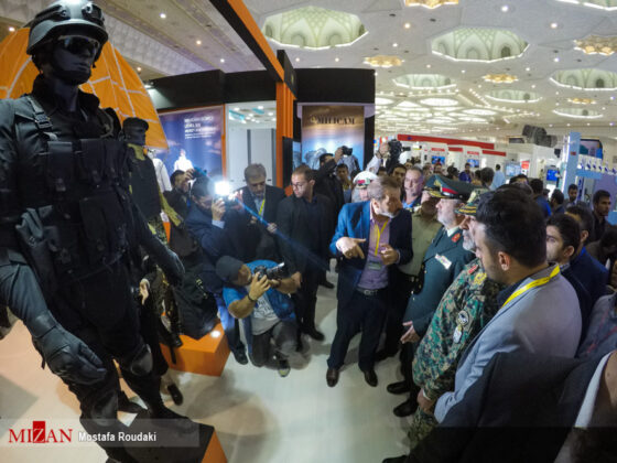 Tehran Hosts Police, Safety, Security Equipment Exhibition17