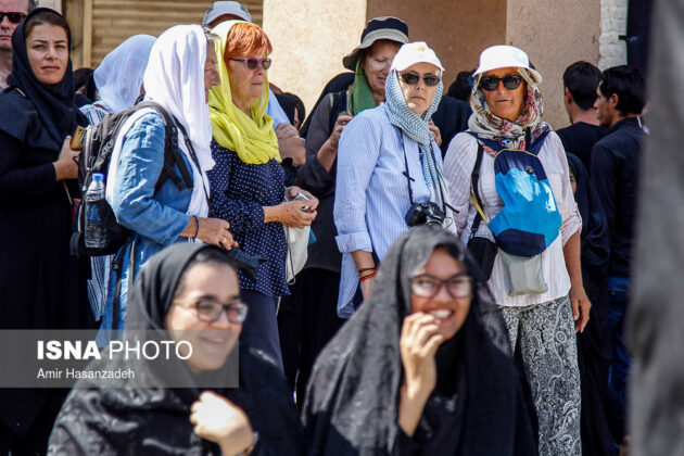 Iran Holds Special Tour of Mourning Ceremonies for Foreigners17