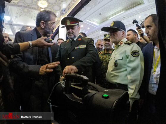 Tehran Hosts Police, Safety, Security Equipment Exhibition18