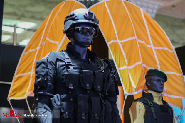 Tehran Hosts Police, Safety, Security Equipment Exhibition19