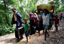 فرار ۱۱ هزار مسلمان روهینگیایی از میانمار تنها در یک روز
