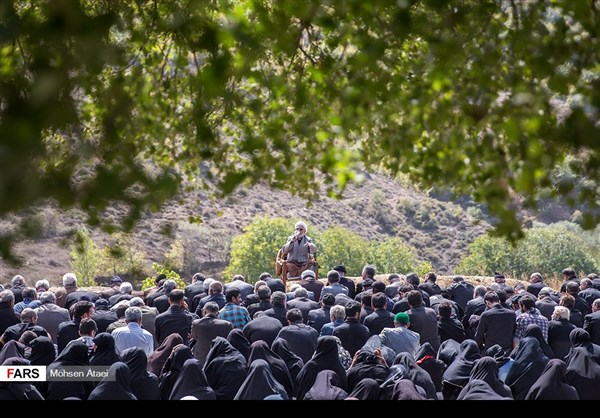 مراسم عاشوراء في ساري شمال ايران 2
