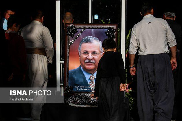 مجلس تأبين الرئیس العراقي الراحل في ايران2