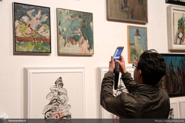 افتتاح نمایشگاه آثار نقاشی70 سال اخیر در فرهنگسرای نیاوران2