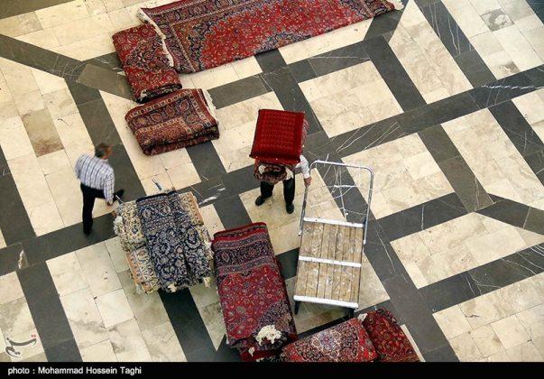 سوق السجاد في مدينة مشهد 2