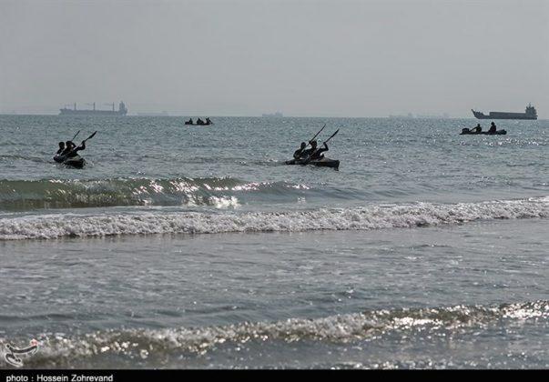 تدريبات مغاوير بحرية الجيش الايراني2