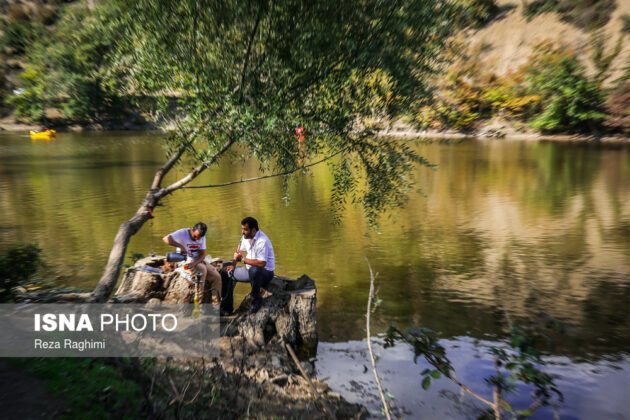 Iran's Beauties in Photos: Shourmast Lake 2