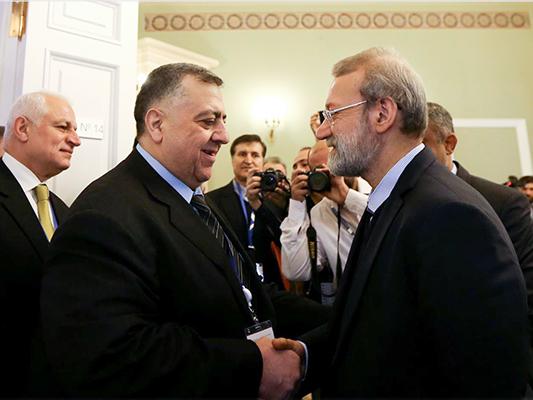 رئيس البرلمان الايراني .. الأزمة السورية في طريقها إلى النهاية