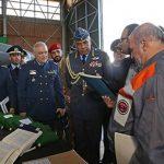 فرمانده نیروی هوایی عمان از پایگاه لشکری بازدید کرد
