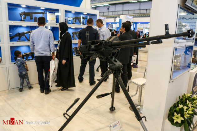 Tehran Hosts Police, Safety, Security Equipment Exhibition21