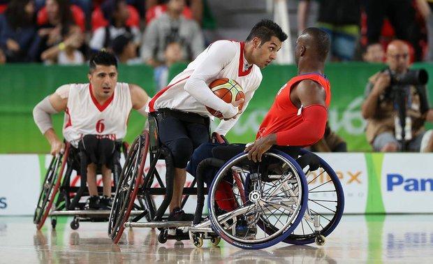 ايران تحصد فضية بطولة آسيا لكرة السلة بالكراسي المتحركة