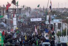 اقامة مواكب في ايران لاستقبال الزوار الباكستانيين والافغانيين
