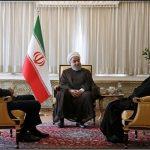 اجتماع رؤساء السلطات الثلاث في مقر البرلمان الايراني