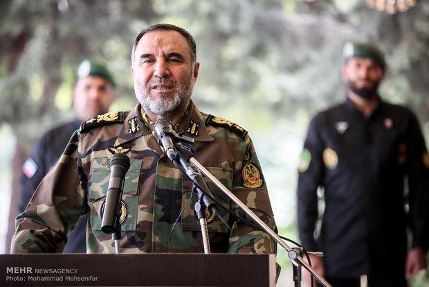 عسكري ايراني .. الجيش في ذروة استعداده القتالي