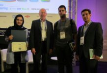 "Iranian Robotic Team Wins ""Best Idea"" Award in AIChE 2017"