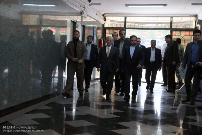يوكيا أمانو في طهران لبحث الموضوعات النووية
