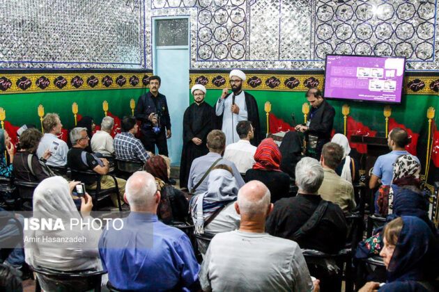 Iran Holds Special Tour of Mourning Ceremonies for Foreigners3