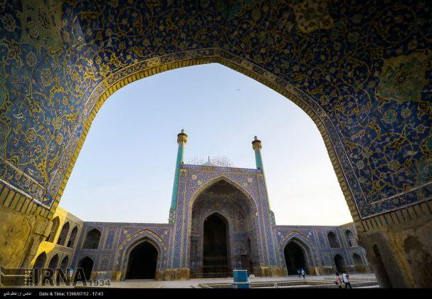 مسجد الامام في اصفهان 3