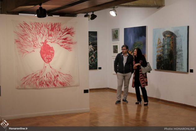 افتتاح نمایشگاه آثار نقاشی70 سال اخیر در فرهنگسرای نیاوران3
