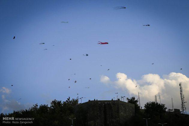 احتفال الطائرات الورقية في همدان الايرانية 3