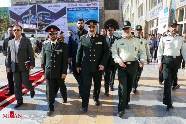 Tehran Hosts Police, Safety, Security Equipment Exhibition3