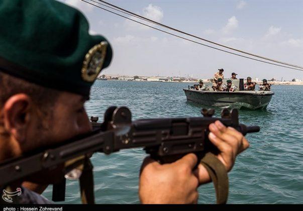 تدريبات مغاوير بحرية الجيش الايراني3