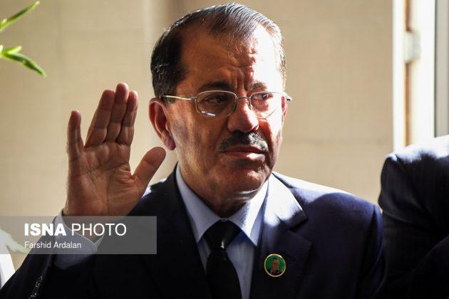 مجلس تأبين الرئیس العراقي الراحل في ايران4