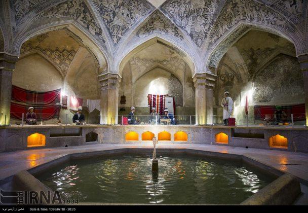 حمام الوکيل في مدينة شيراز4