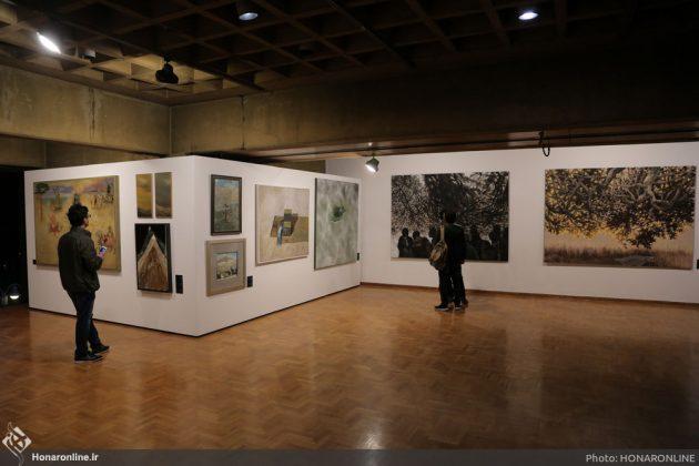 افتتاح نمایشگاه آثار نقاشی70 سال اخیر در فرهنگسرای نیاوران4