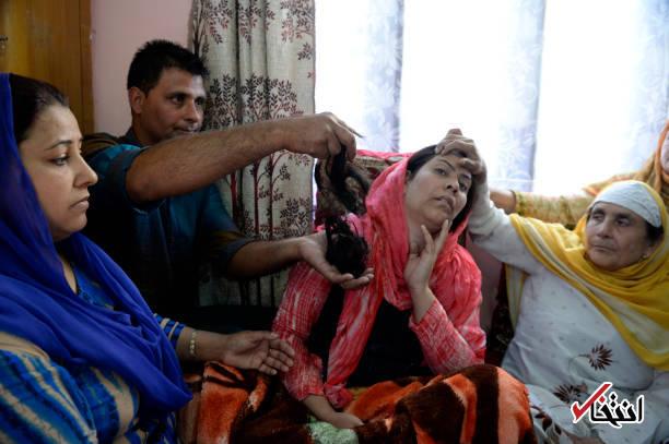 بحران در کشمیر؛ گیس زنان در خواب بریده میشود!4