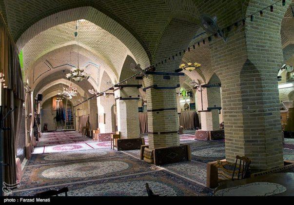 مسجد عماد الدولة التاريخي في كرمانشاه الايرانية4