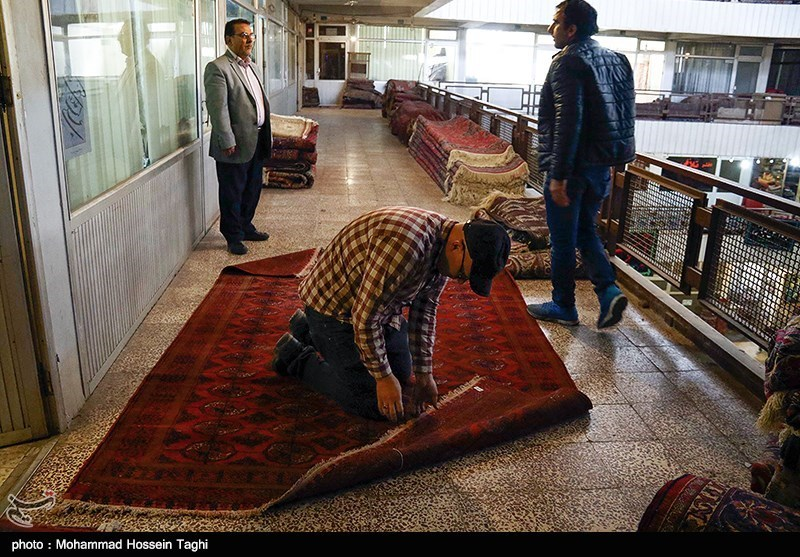 سوق السجاد في مدينة مشهد 4