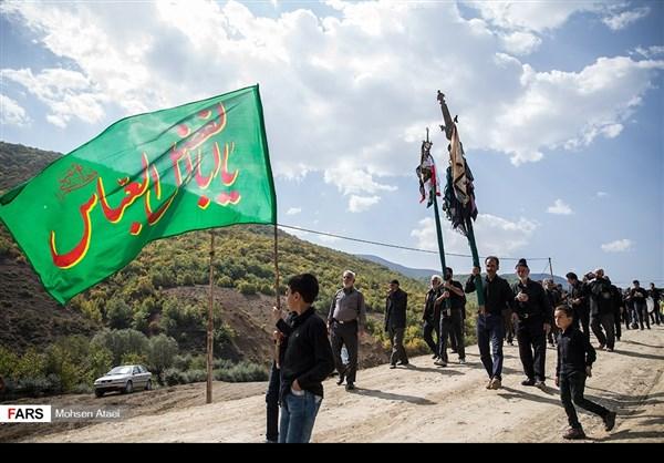 مراسم عاشوراء في ساري شمال ايران 5