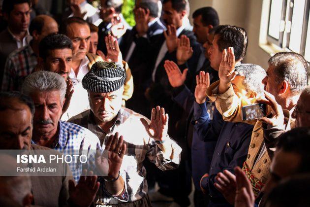 مجلس تأبين الرئیس العراقي الراحل في ايران5