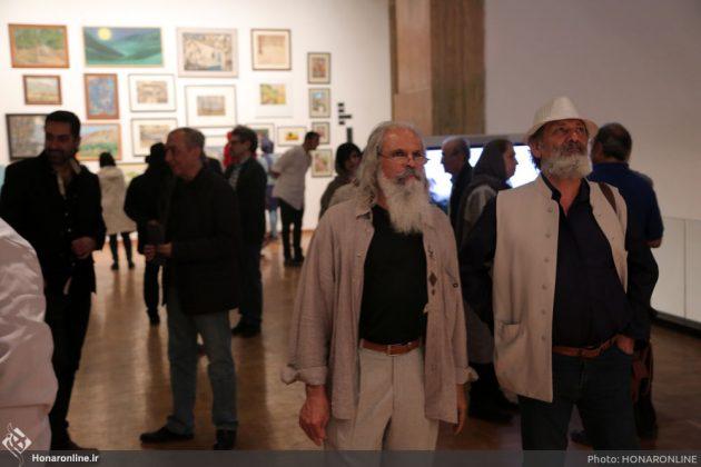 افتتاح نمایشگاه آثار نقاشی70 سال اخیر در فرهنگسرای نیاوران5