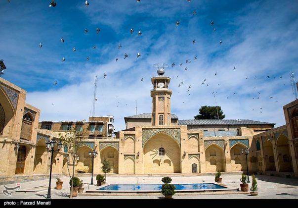 مسجد عماد الدولة التاريخي في كرمانشاه الايرانية5