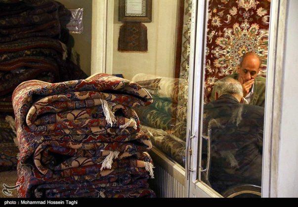 سوق السجاد في مدينة مشهد 5