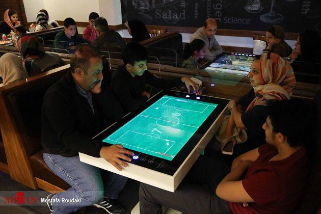 راهاندازی اولین رستوران رباتیک ایران5