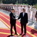 مساعد الرئيس الايراني يستقبل رئيس وزراء أرمينيا
