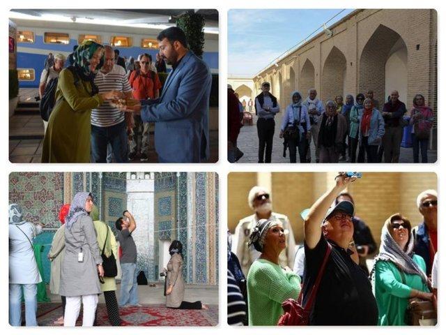 نمو توافد السیاح الأجانب علی محافظة