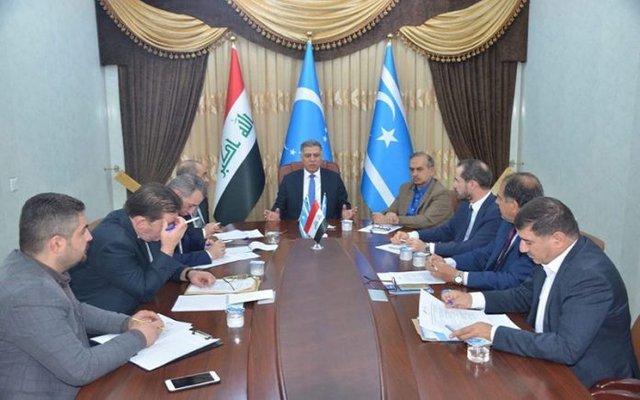 وفد تركماني عراقي يبدأ جولة عربية وإقليمية تشمل إيران