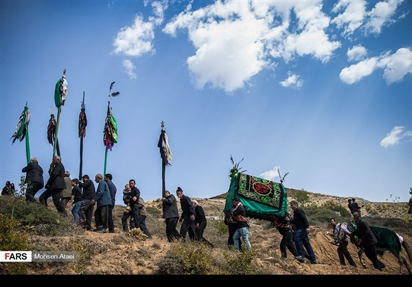 مراسم عاشوراء في ساري شمال ايران 6