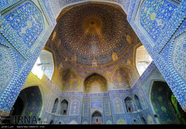 مسجد الامام في اصفهان 6