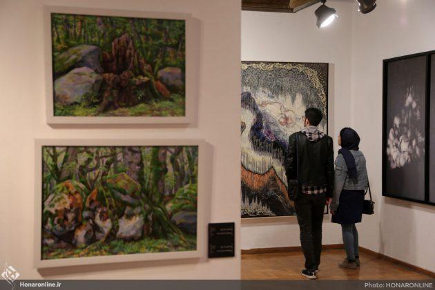 افتتاح نمایشگاه آثار نقاشی70 سال اخیر در فرهنگسرای نیاوران6