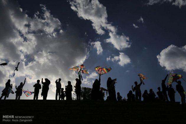 احتفال الطائرات الورقية في همدان الايرانية 6